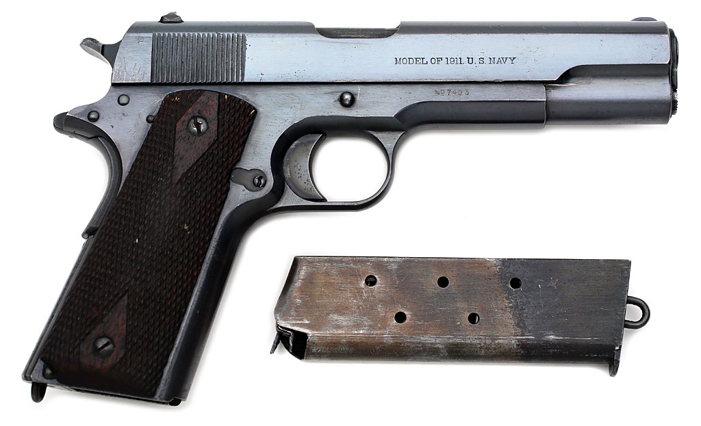 description of the colt model 1911 Description: colt model 1911 us army has serial united states property no 536861 this puts date of manufacture c 1918 this is a semi auto us army 45 acp it has a 5 barrel with a bore in excellent condition.