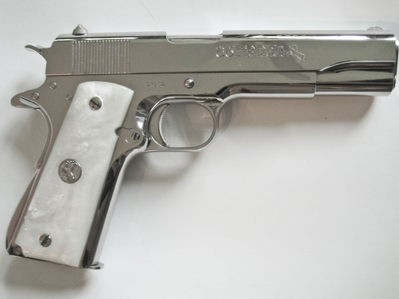 Colt Pistols and Revolvers for Firearms Collectors - Gun of